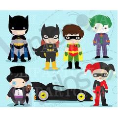 Super Heroes 01 - Precio por CADA Super Heroe - 55 cm x 80 cm (Silueta recortada, Impresión en HD)