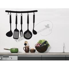 Cocinas 01 OUTLET - 55 cm x 70 cm | NEGRO BRILLANTE