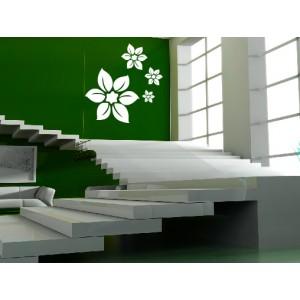 Florales 09 - 80 cm x 84 cm