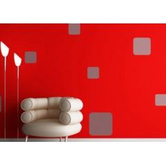 Kit Decorativo 09 - 3 piezas de 30 cm x 30 cm y 4 piezas de 10 cm x 10 cm