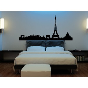 Skylines 07 - 55 cm x 115 cm OUTLET | SOLO NEGRO MATE