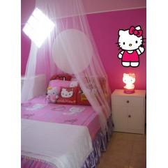 Hello Kitty 01- 74 cm x 100 cm (Silueta recortada, Impresión en HD)
