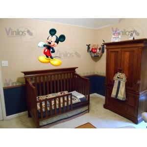 Mickey 01- 88 cm x 120 cm (Silueta recortada, Impresión en HD)