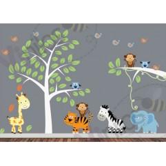 Infantiles Niño 03 - Cubre hasta 2 metros cuadrados